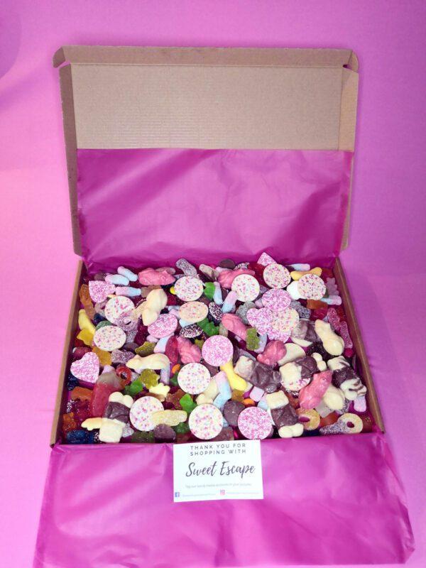 sweet and chocolate box